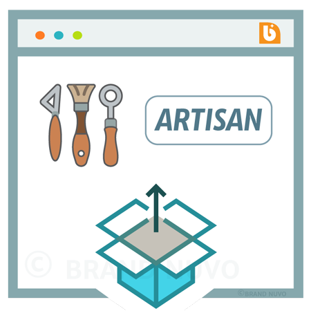 Image showing Niche Artisan website - as graphic